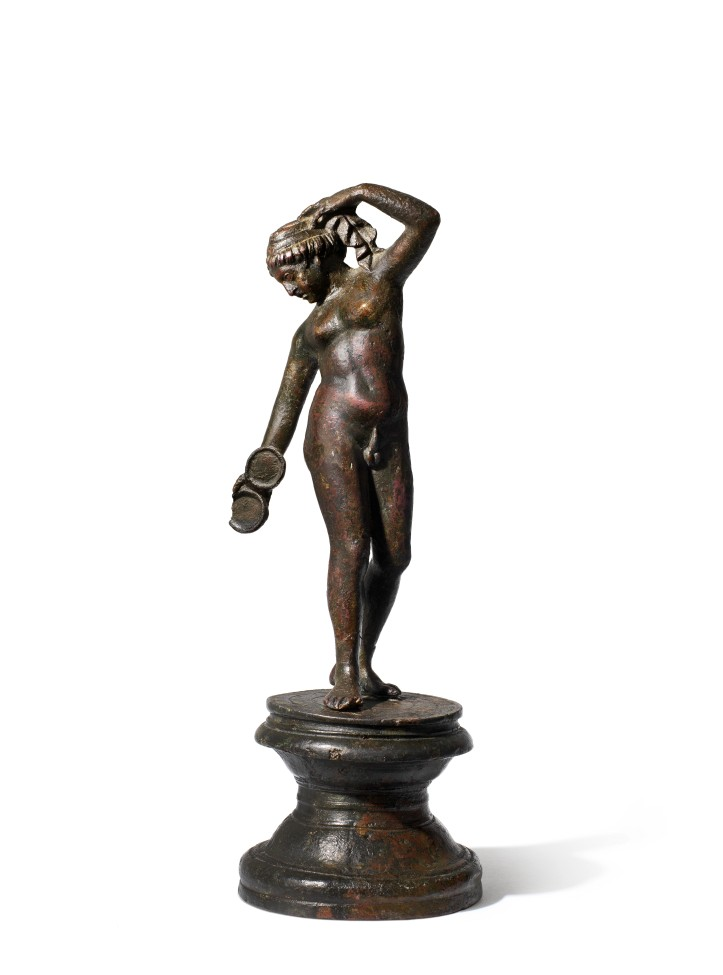 A Roman bronze figure of Hermaphroditos.jpg
