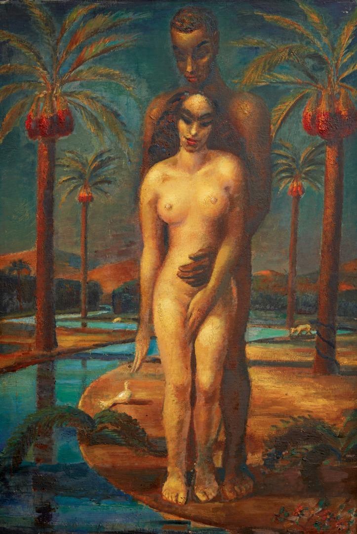 Mahmoud Saïd, Adam & Eve, 1937 (est. £300,000-500,000).jpg