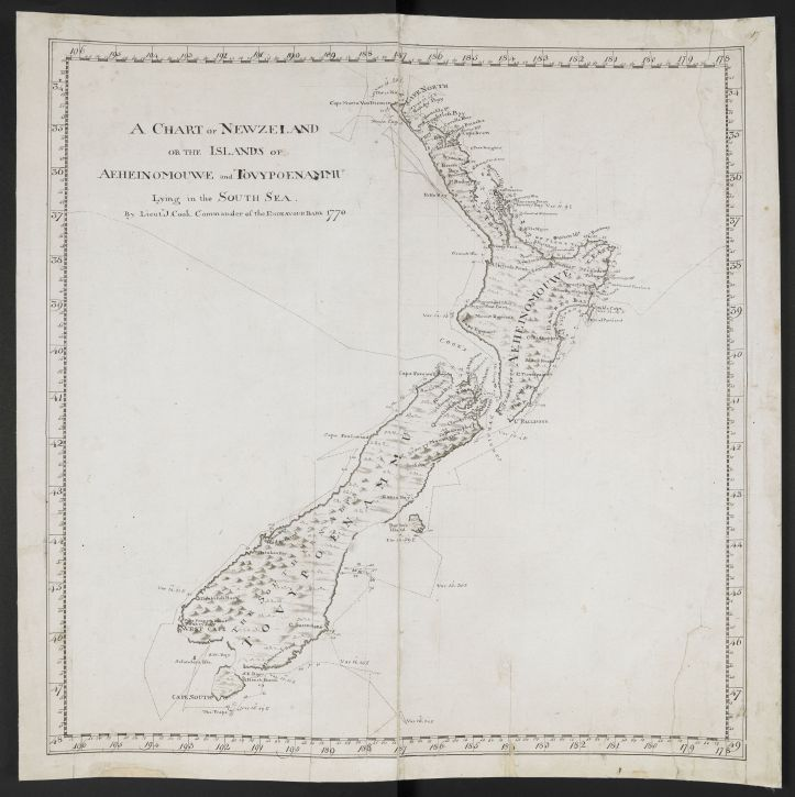 Cook's Chart of New Zealand (c) British Library Board.jpg