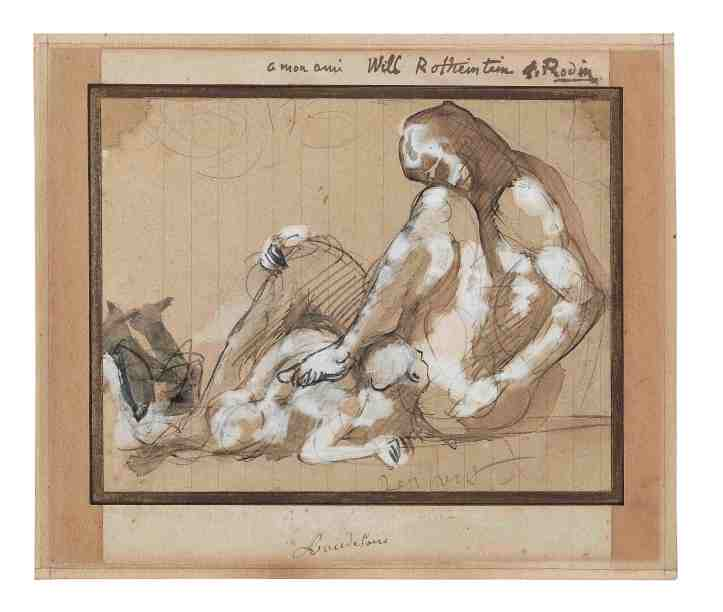 1 AUGUSTE RODIN (1840-1917) Satan et un adorateur (Serpent) drawing copy.jpg